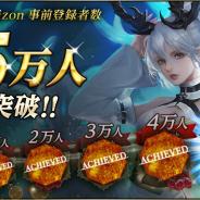 WeGames Japan、『ブラックホライズン -Black Horizon-』の事前登録者数が5万人を突破! 新たな特別報酬を緊急追加
