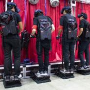 ハシラス、パーソナルモビリティ型VRライドデバイス「キックウェイ」を「デジタルコンテンツEXPO 2019」に出展!!