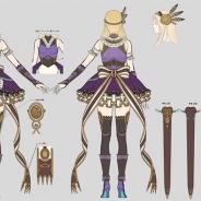 スクエニ、『ヴァルキリーアナトミア ‐ジ・オリジン‐』が新クラス「守護者」初のキャラクター「佳麗な乙女シルメリア」のデザイン画を公開