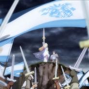 セガネットワークス、『オルタンシア・サーガ -蒼の騎士団-』OPアニメを使ったPVを公開…いとうかなこさんの歌うテーマソング「君の名前の風が吹く」も初公開
