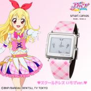 バンダイ、「アイカツ!」×エプソン腕時計「Smart Canvas」のコラボモデルの予約開始…星宮いちご・大空あかり・スターライト学園がモチーフの3種