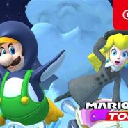 任天堂、『マリオカート ツアー』で「アイスツアー」が本日15時より開幕! ドカンに「ピーチ(ウィンター)」が新登場!
