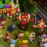 SummerTimeStudio、16年リリース予定の本格ランニングRPG『4Heroes Runner(仮称)』のゲーム内容とゲーム画面を一部公開!