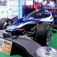 【TGS2019】バンナムブースで「1/1 ミニ四駆 エアロ アバンテ」を展示!『ONE PIECE バウンティラッシュ』『ガンダムブレイカーモバイル』の体験コーナーも