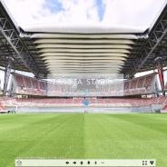 超高画質、360億5万画素の360度VRコンテンツを公開 豊田スタジアムをグラウンドの中央から眺めると?