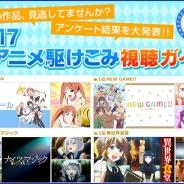 【ドコモ・アニメストア調査】『夏アニメ部門別ランキング』を発表…「dアニメストア」で5600人以上が回答