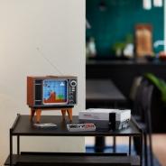 レゴ、海外仕様のファミコン「NES」セットを発売! 動くブラウン管も付属