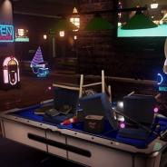 こんな飲み会なら悪くない PSVR対応オンラインゲーム『SportsBarVR』のムービーが公開に…ダーツやビリヤードはもちろん、過度な悪ふざけも可能
