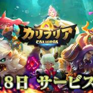 H.K Tartarus Technology、スマホ本格育成RPG『カリブリア(Calibria)』の正式サービスを開始