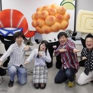 サイバーステップ、WEBアニメが原作のランゲーム『Dash!!スシニンジャ』記者発表会を開催 アメリカザリガニ平井善之さん、声優の深川芹亜さんが応援に