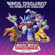 ROVIO、怒れる鳥と変形ロボット玩具が融合…新作『Angry Birds Transformers』のゲームプレイ動画が公開。10月15日より順次配信開始