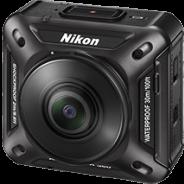 ニコン、同社初のアクションカメラ「KeyMission 360」を発表 コンパクトながらも360度の動画撮影が可能