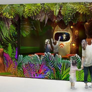 バンダイナムコアミューズメント、「屋内・冒険の島 ドコドコ」を10月11日にオープン