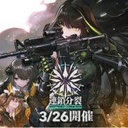 サンボーンジャパン、『ドールズフロントライン』で大型イベントを3月26日より開催! ベルグラードでの戦い後を描く