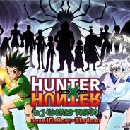 バンダイナムコアミューズメント、『HUNTER×HUNTER』の連載再開を記念した期間限定イベントを「J-WORLD TOKYO」で10月9日より開催!