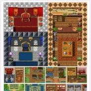 ふりーむ、アプリ開発に便利な素材集『決定版マップ素材「ファンタジーRPG」』の提供開始