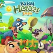 King、スマホアプリ版『Farm Heroes Saga』の提供開始…米国App Storeでは売上ランキングで20位に