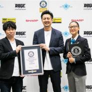 「RAGE」が「オンライントレーディングカードゲームを同時に同一会場でプレイした最多人数」でギネス世界記録を達成!