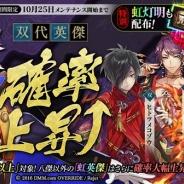 DMM GAMES、『一血卍傑-ONLINE-』で双代英傑の確率上昇&新祭事「神話降臨 ヘイムダル」を開催を含むアップデートを実施