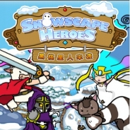 ONE-UP、『Snowscape Heroes ~ブラックピーチズ襲来~』の中国語版制作を決定 中国語版の公式サイトを開設