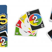 マテル・インターナショナル、「UNO(ウノ)」の兄弟となる新たなカードゲーム「DOS(ドス)」を8月上旬より発売!