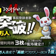 PiG Corporation、新作MMORPG『ロハンM』の事前者数が7万人突破!