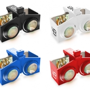 折りたたみも可能! 手のひらサイズのスマホ用VRヘッドセット『STEALTH VR POCKET』発売…価格は1998円(税込み)