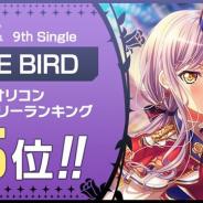 ブシロードとCraft Egg、『ガルパ』でRoseliaの9th Single「FIRE BIRD」のオリコンウィークリーランキング5位を記念したプレゼントを実施
