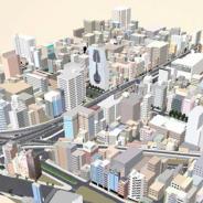 ゼンリン、Unityアセットストアで秋葉原に続き、大阪、福岡、札幌の3D都市モデルデータを新たに無償提供