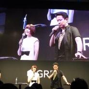 【TGS2015】「アプリでしか表現できない面白さがある」…声優の花澤香菜さんと杉田智和さんが登場した『消滅都市』一色のSPステージを取材