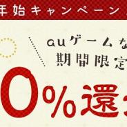 auゲーム、『モンスト』や『パズドラ』『FGO』『アズレン』などでの購入額の20%をポイント還元する「年末年始キャンペーン」を12月31日より開催!