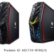 エイサー、「VR Ready」で8K出力にも対応したゲーミングPCを発表 GeForceGTX1070を標準搭載