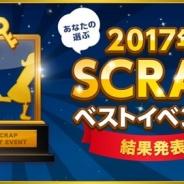 SCRAP、「2017年ベストイベントアンケート」の結果を公開 2017年最もファンの心を掴んだ公演は「終わらない宴からの脱出」!