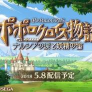 セガゲームス、5月8日配信開始予定の『ポポロクロイス物語 ~ナルシアの涙と妖精の笛』でTwitterキャンペーンを開催!