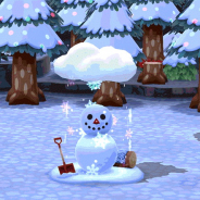 任天堂、『どうぶつの森 ポケットキャンプ』で雪のシーズンにピッタリな「ゆきだるま」を期間限定で追加!