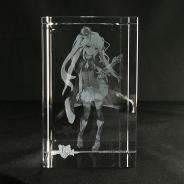 DMM、『千年戦争アイギス』よりシビラ 3DクリスタルをDMM通販にて販売 受注受付をスタート