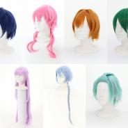 アコス、『DREAM!ing』のキャラクターウィッグを発売! 望月悠馬、花房柳など全7種がラインナップ