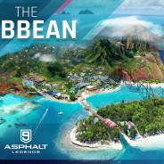 ゲームロフト、『アスファルト9:Legends』最新アップデートで「カリブの楽園」登場! コンバーチブルの高級マシン2台も追加