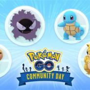 『ポケモンGO』で6月と7月の「コミュニティ・デイ」で登場してほしいポケモンを投票で決定! 候補はゼニガメ、ビードル、サンド、ゴース