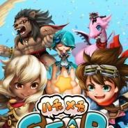 mediba、リアルタイム3Dアクションゲーム『ハチャメチャ STARJAM』を「auゲーム」でリリース 他プラットフォームでも配信予定
