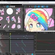 ウェブテクノロジ、macOS CatalinaとBig Sur対応の2Dアニメ作成ツール「OPTPiX SpriteStudio Ver.6 macOS 64bit対応版」を公開
