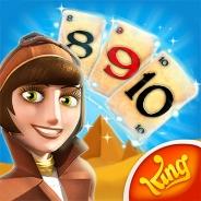 King、新作アプリ『ピラミッドソリティア』を配信開始! 古代エジプト×ソリティアを組み合わせた、同社初の試みとなるカードゲーム