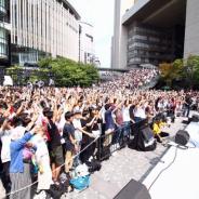 NHN PlayArtとドワンゴ、『#コンパス』のイベントを大阪・うめきた広場で開催! VTuber・猫宮ひなたやDJデルミンが生出演