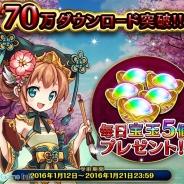 LINEとgumi、『LINE 三国志ブレイブ』が累計70万DLを突破 期間限定で新武将などが手に入るイベントも開催中!