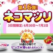 ESTgames、『マイにゃんカフェ』でガチャイベント第16弾「ネコマツリ」を開催 「気球旅行にゃん」が貰えるイベントも実施