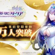 ZLONGAME、3D爽快バトルRPG『メガミヒストリア』の事前登録者数が20万人を突破 抽選でAmazonギフト券2000円分のプレゼントも