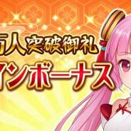 DMM GAMES、「戦乱プリンセス」にて登録者170万人御礼キャンペーンを開催!