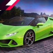 ゲームロフト、『アスファルト9』でランボルギーニの最新モデル「Huracán EVO Spyder」を「ジュネーブモーターショー2019」と同時公開