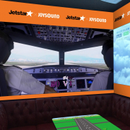 スタンダード、ジェットスター・ジャパンとのコラボで「飛行機カラオケルーム」をJOYSOUND品川港南口店に8月1日にオープン!
