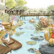 ポッピンゲームズジャパン、『ピーターラビット -小さな村の探しもの-』で新イベント「夏の川遊び」と 新ガチャ「彩りの雨」を開始